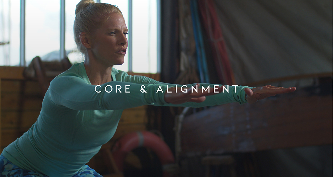 Core & Alignment from Earth + Sky
