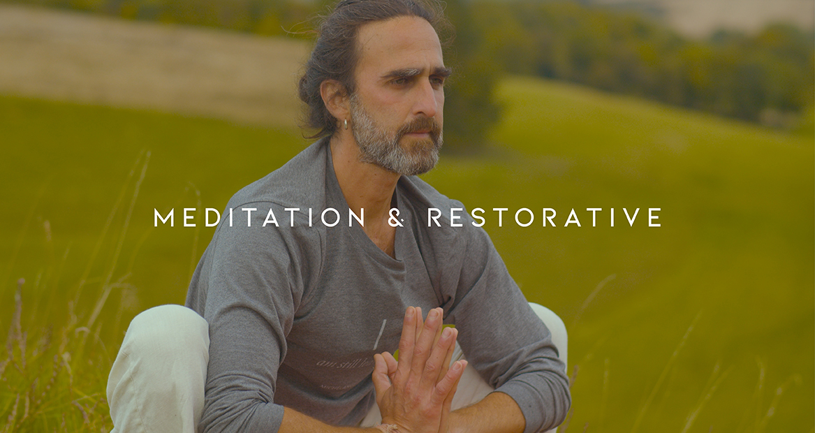 Meditation & Restorative from Earth + Sky