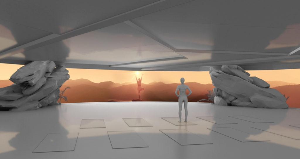 One-of-a-kind studio experience - Earth + Sky